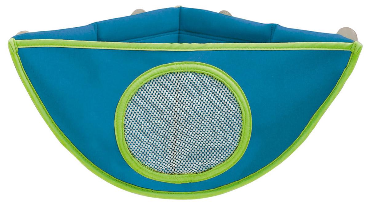 Munchkin Органайзер для игрушек в ванной цвет голубой -  Все для купания