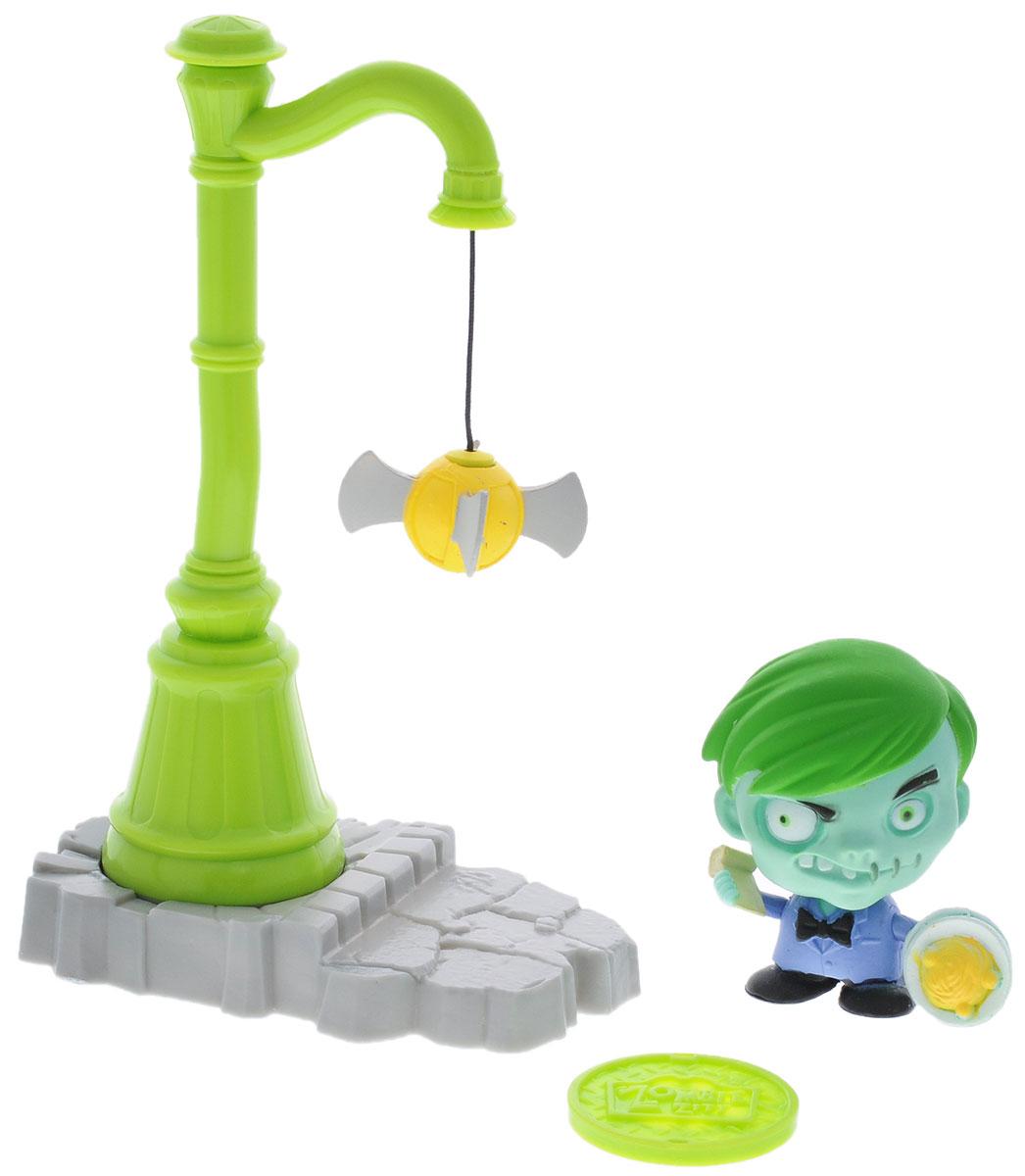 Фото Zombie Zity Игровой набор Ловушка для зомби Филипп Снотти и Фонарный столб. Купить  в РФ