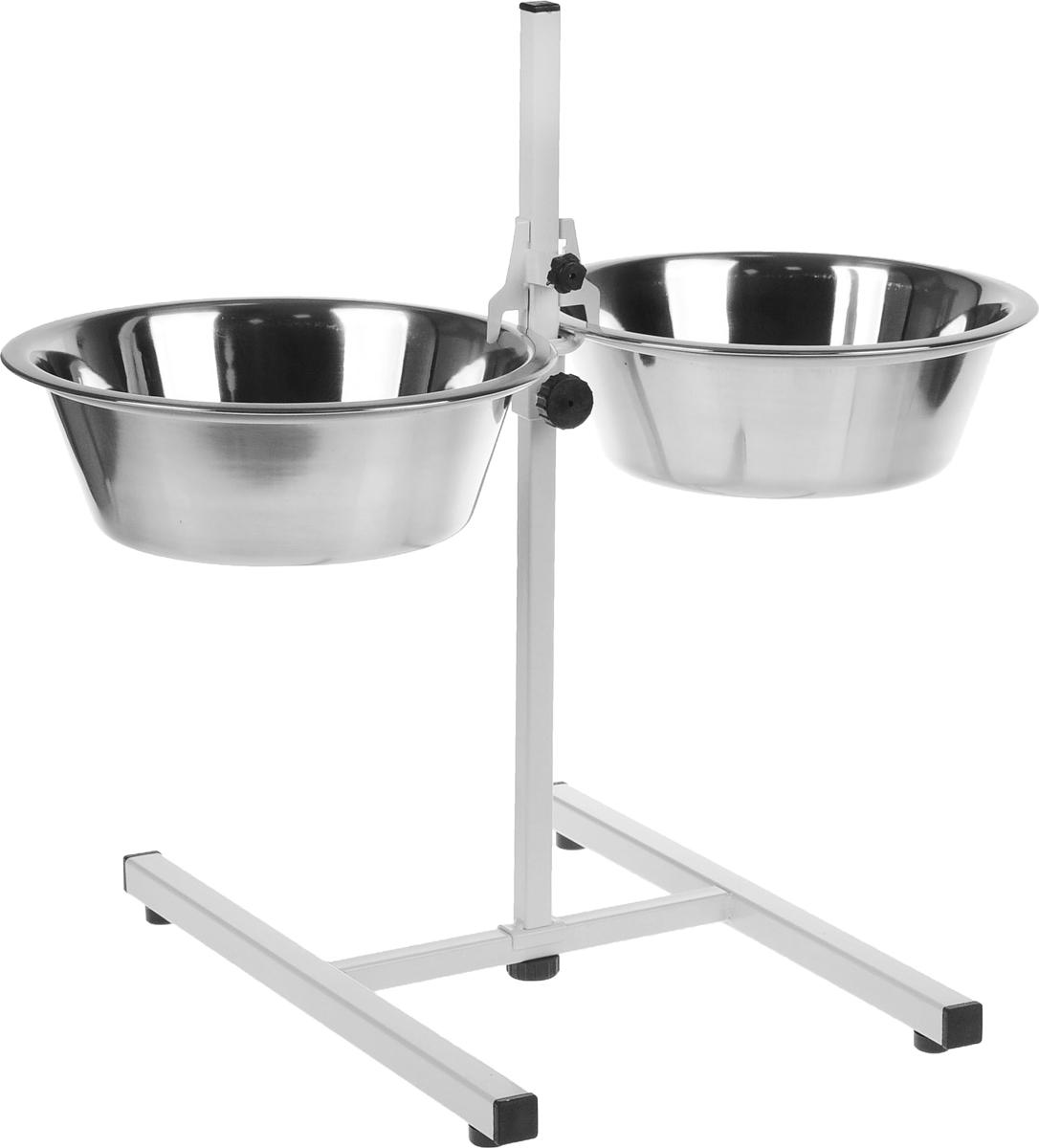 Подставка для кормления животных  Мухтар-1 , 2 х 1,75 л