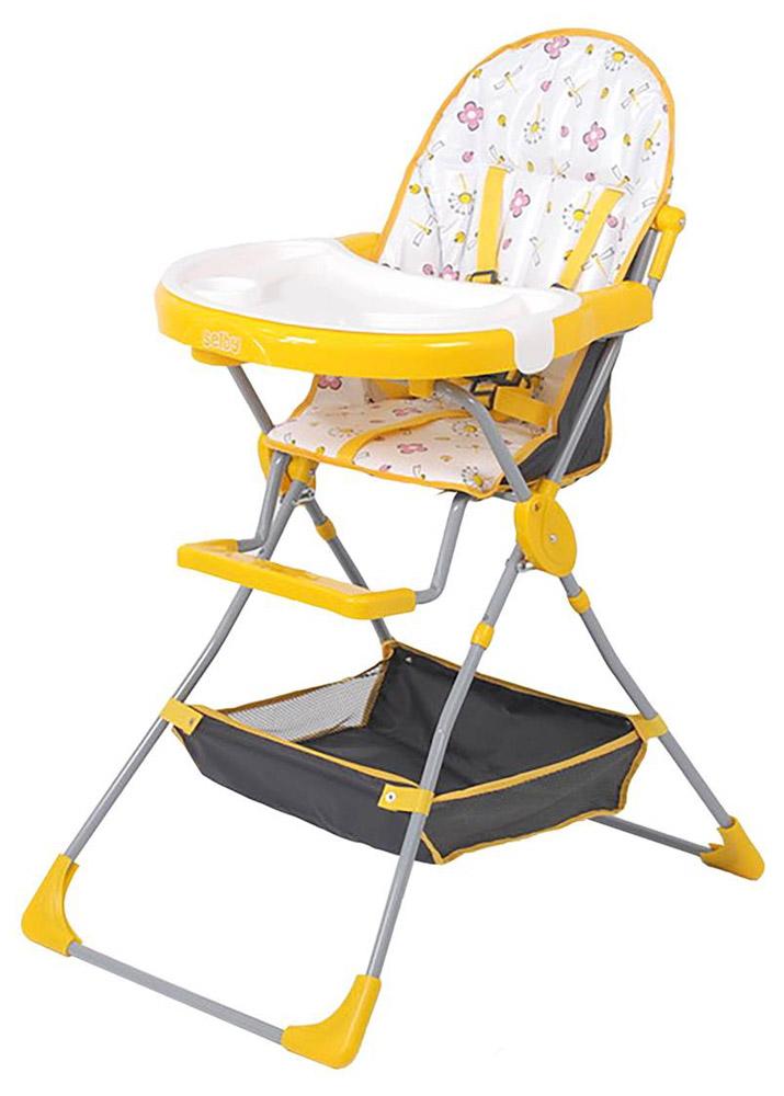 Selby Стульчик для кормления Стрекозы цвет желтый -  Стульчики для кормления