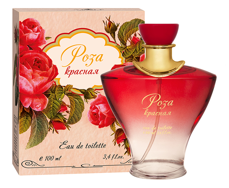 Фото Apple Parfums Туалетная вода Роза Красная (edt) женская 100ml. Купить  в РФ