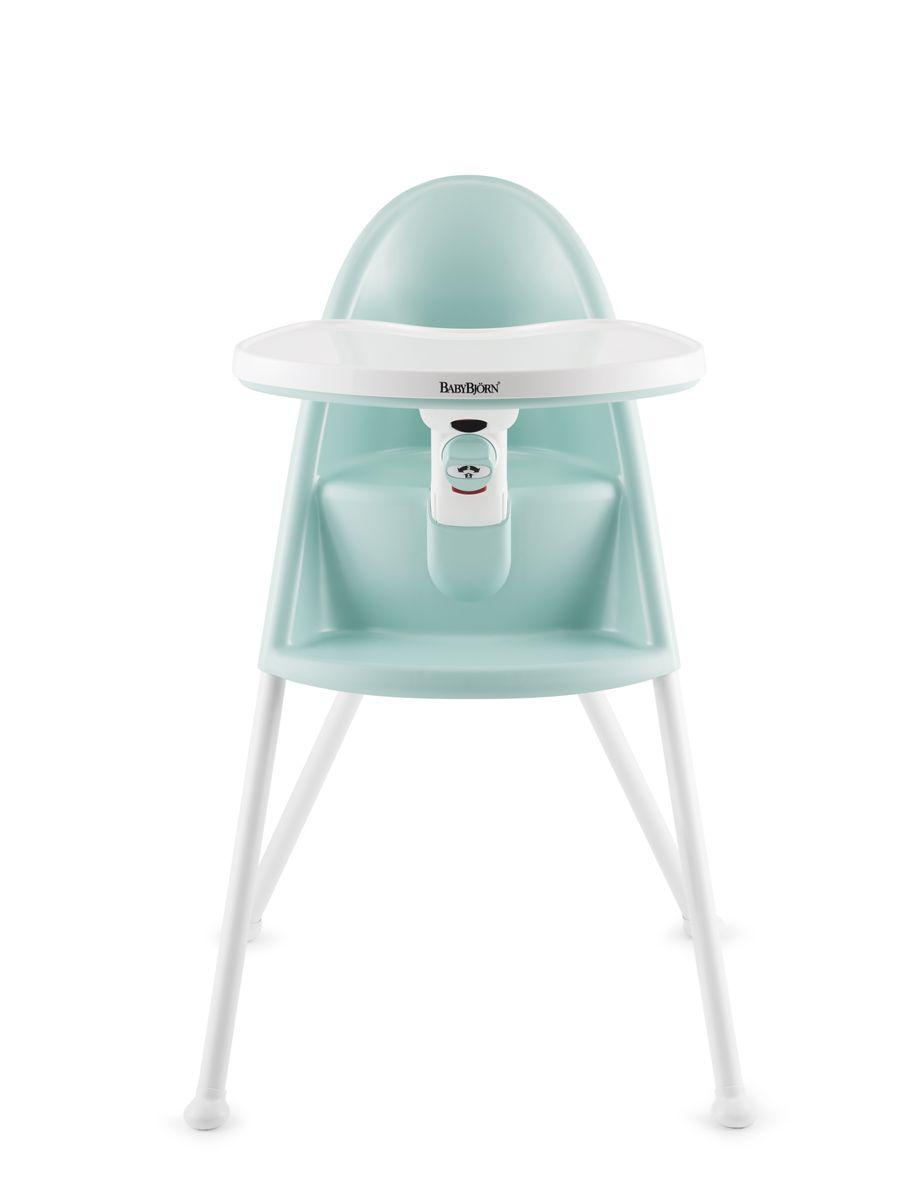 BabyBjorn Стул для кормления цвет бирюзовый -  Стульчики для кормления