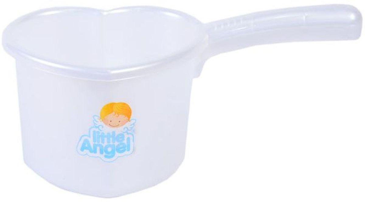 Little Angel Ковшик для детской ванночки цвет белый -  Все для купания