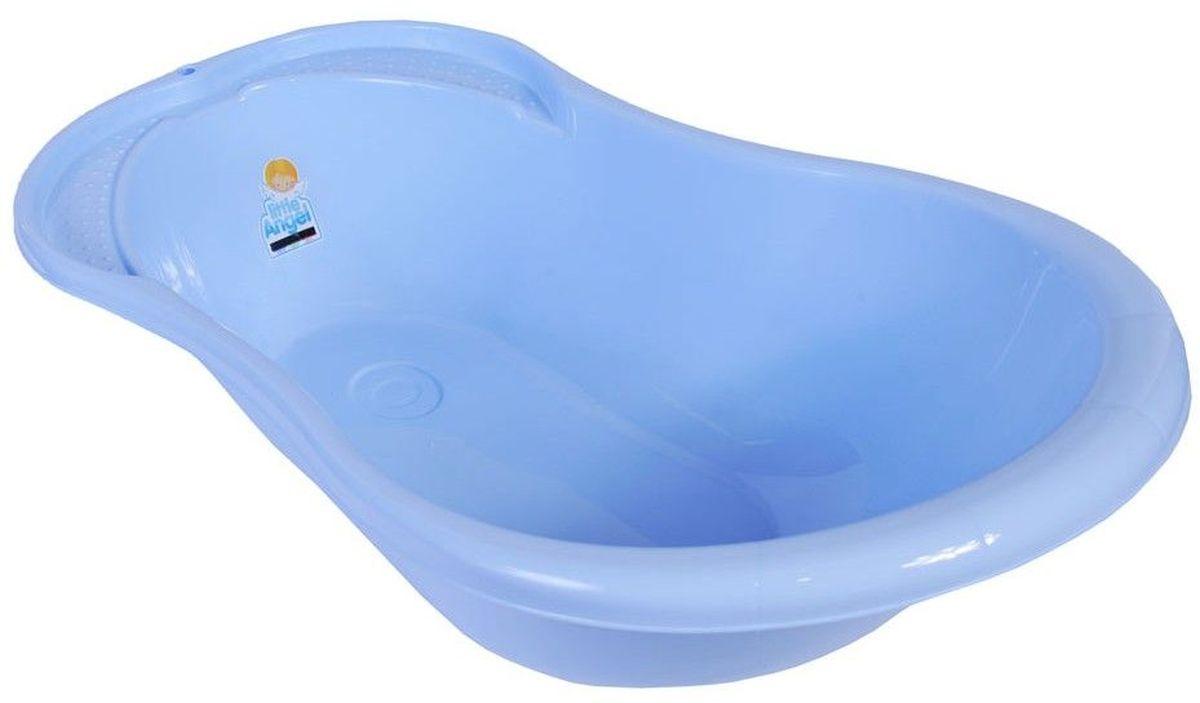 Little Angel Ванна детская Ангел с термометром цвет голубой -  Все для купания