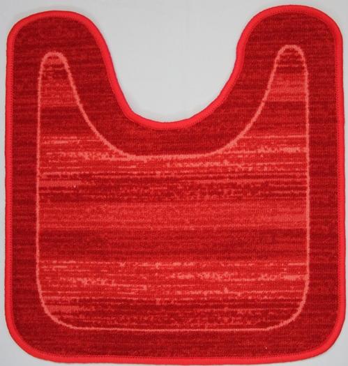 """Фото Коврик для ванной MAC Carpet """"Розетта"""", цвет: красный, 57 х 60 см. Купить  в РФ"""