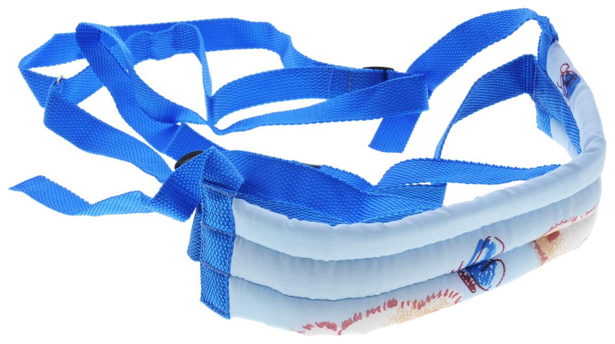 Фея Поводок детский цвет голубой -  Ходунки, прыгунки, качалки