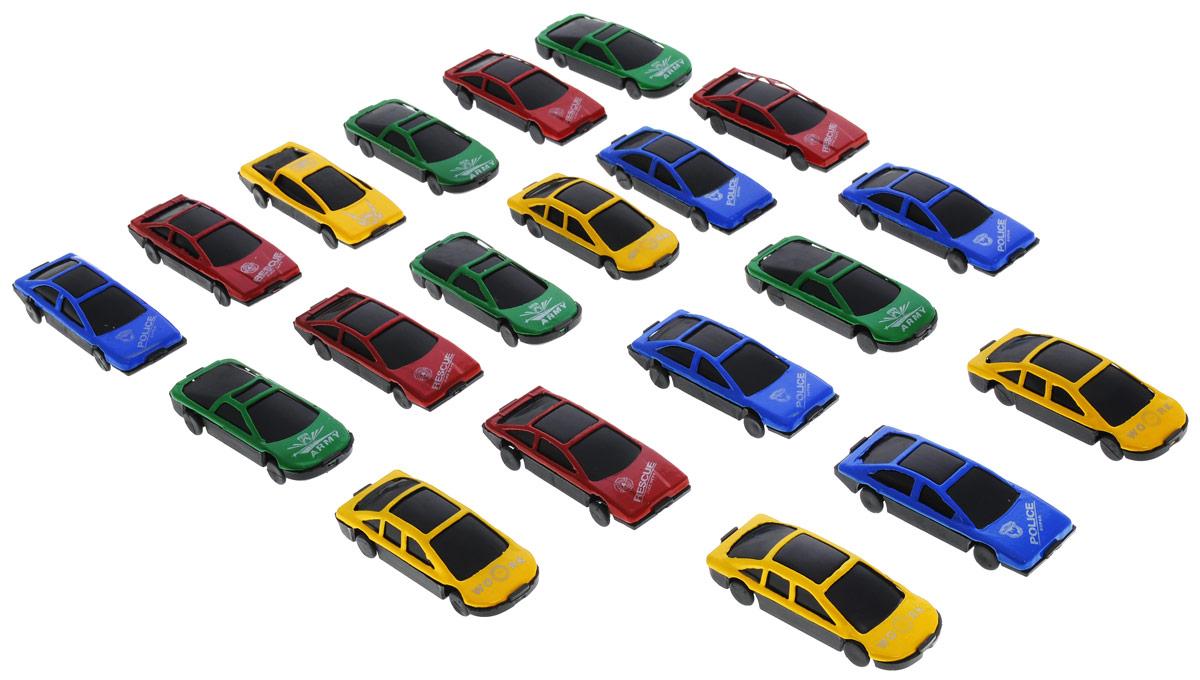 Фото Little Ant Набор машинок Auto World 20 шт. Купить  в РФ