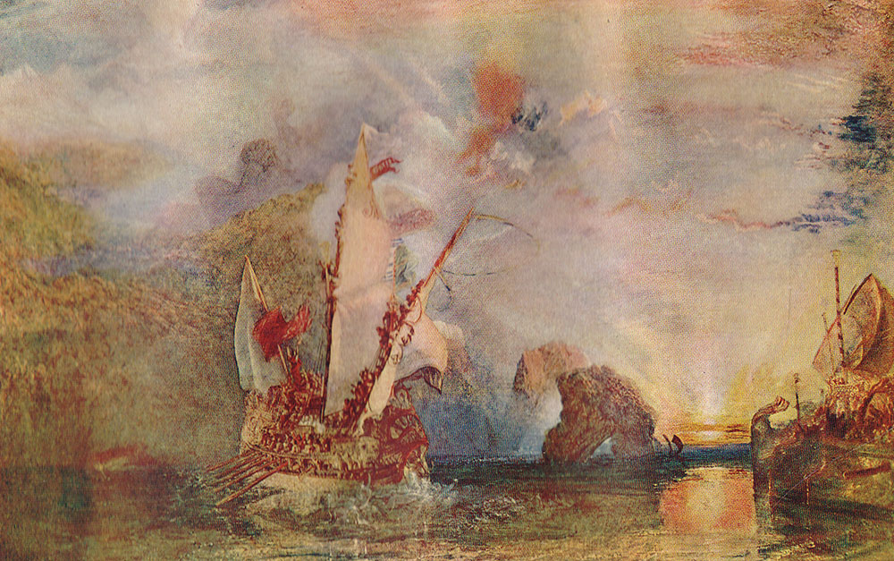 j m w turner Jmwturner's slave ship some brief observations on paradigms and literary structure the lessons of in memoriam for students of imagery and iconology.