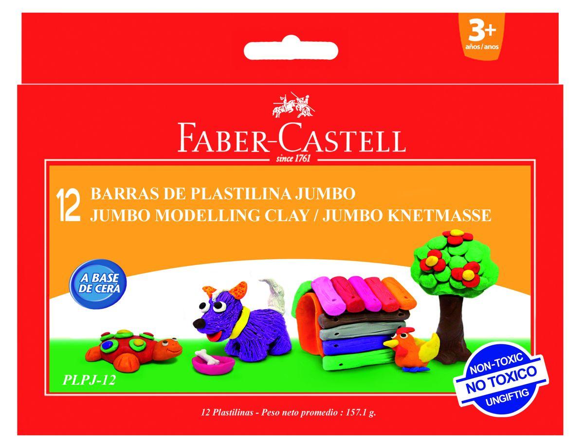 Faber-Castell Пластилин 12 шт -  Пластилин