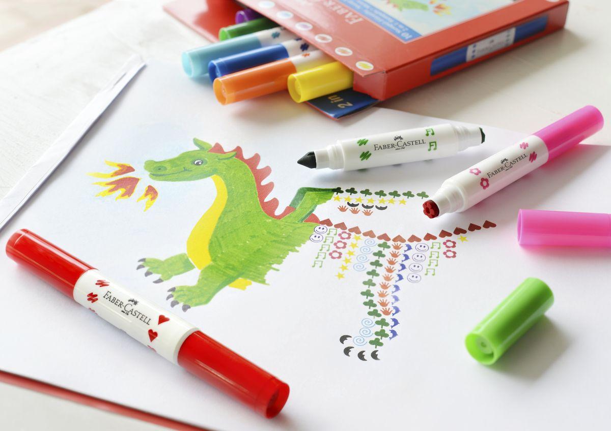 Рисуем яркими маркерами