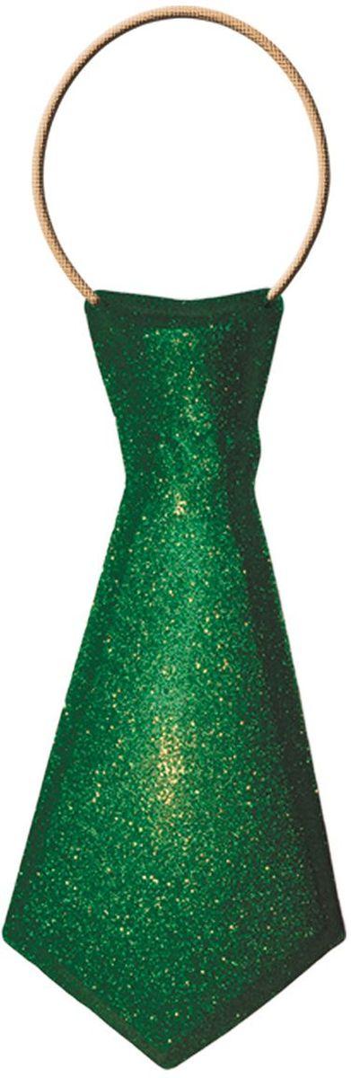 Partymania Галстук карнавальный цвет зеленый -  Аксессуры для карнавальных костюмов