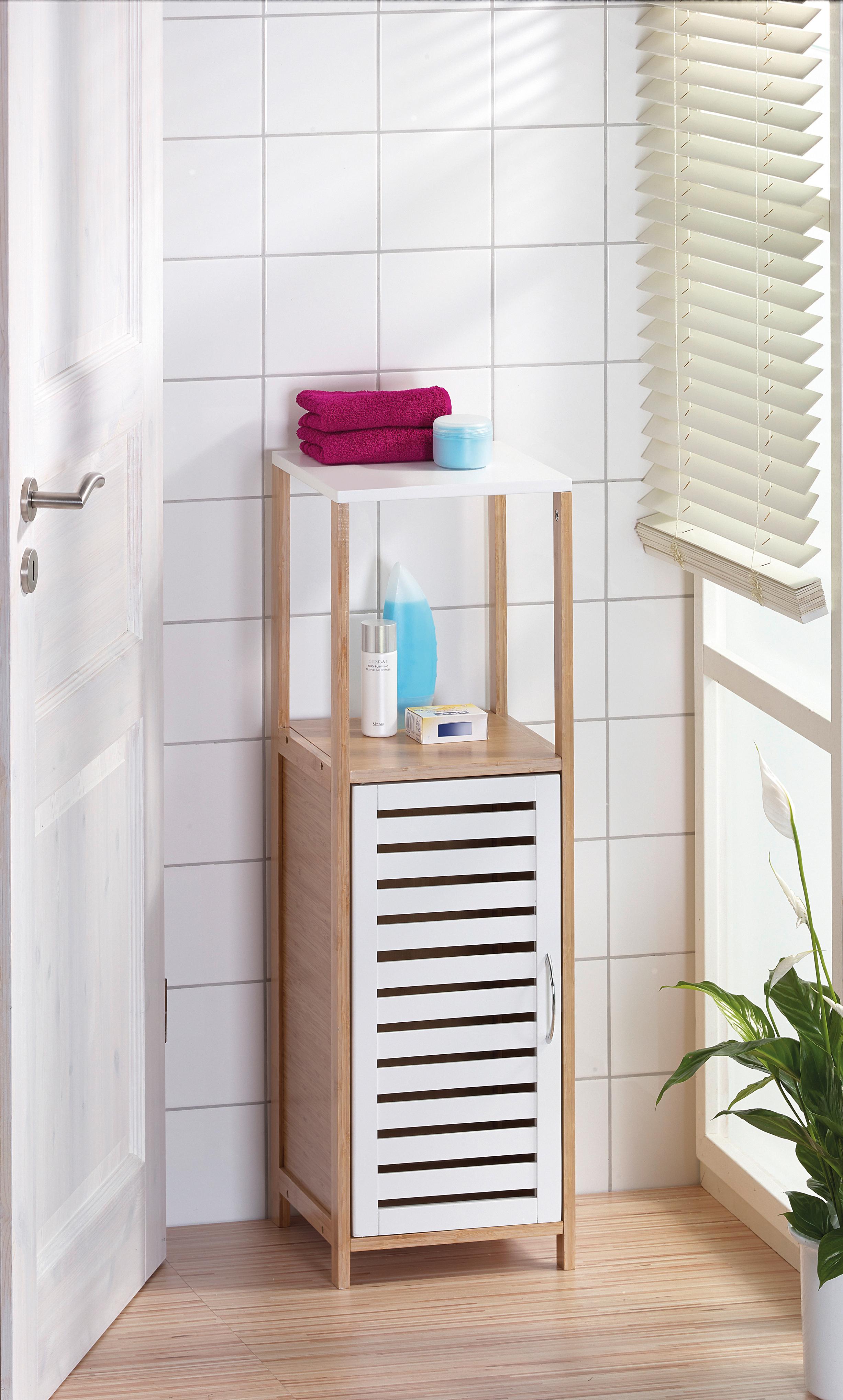 Напольный шкаф в ванную своими руками 346