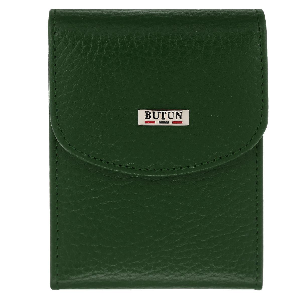 Футляр для визиток Butun, цвет: зеленый. 833-004 075 -  Визитницы