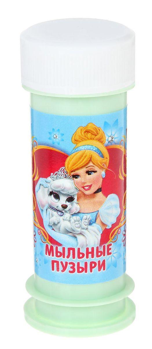 Disney Мыльные пузыри Золушка Королевские питомцы 45 мл -  Мыльные пузыри