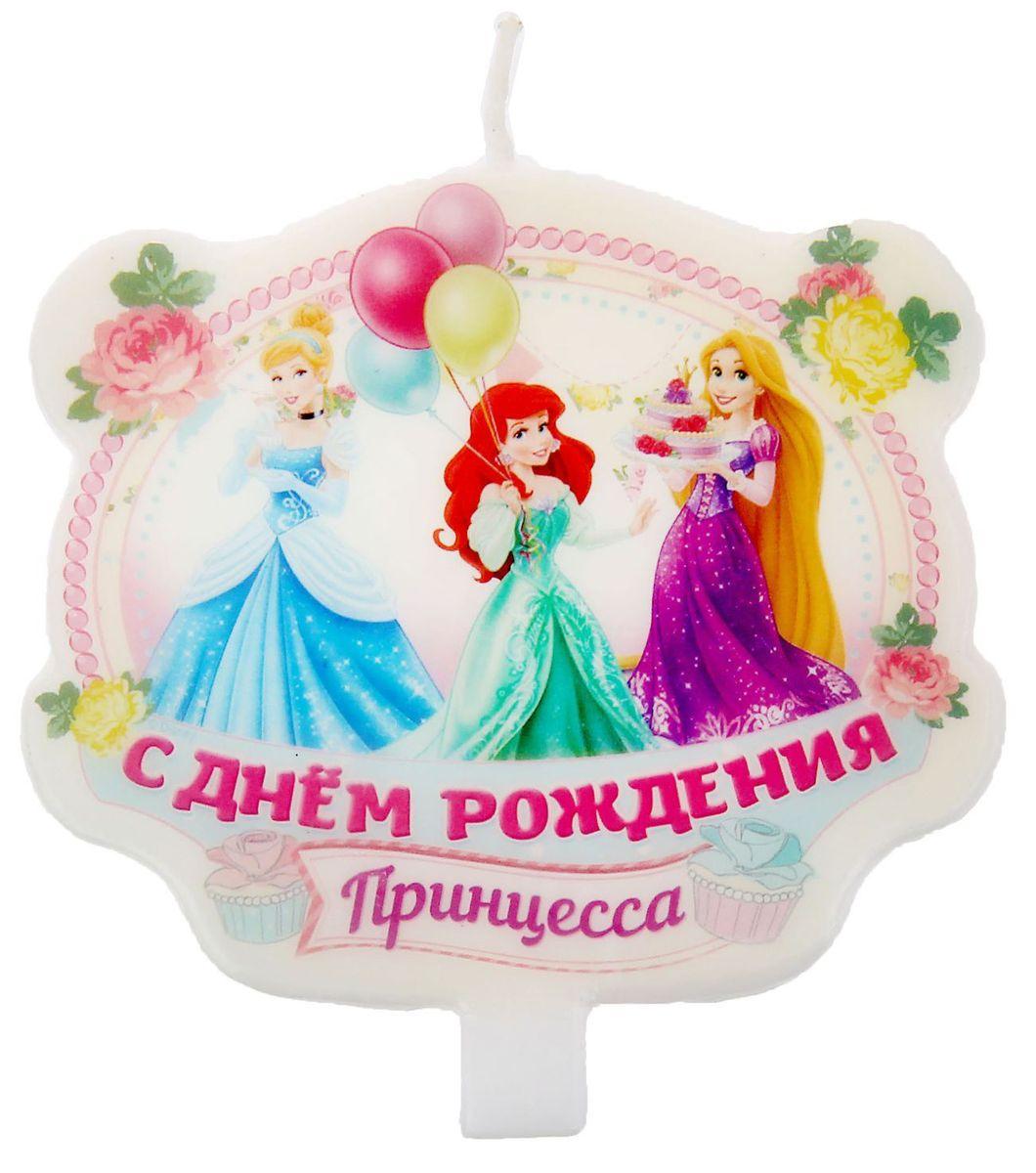 Disney Свеча для торта С днем рождения -  Свечи для торта