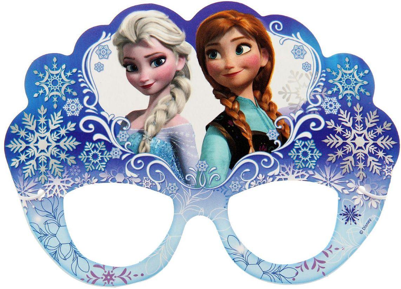 Disney Очки карнавальные детские Холодное сердце -  Очки карнавальные