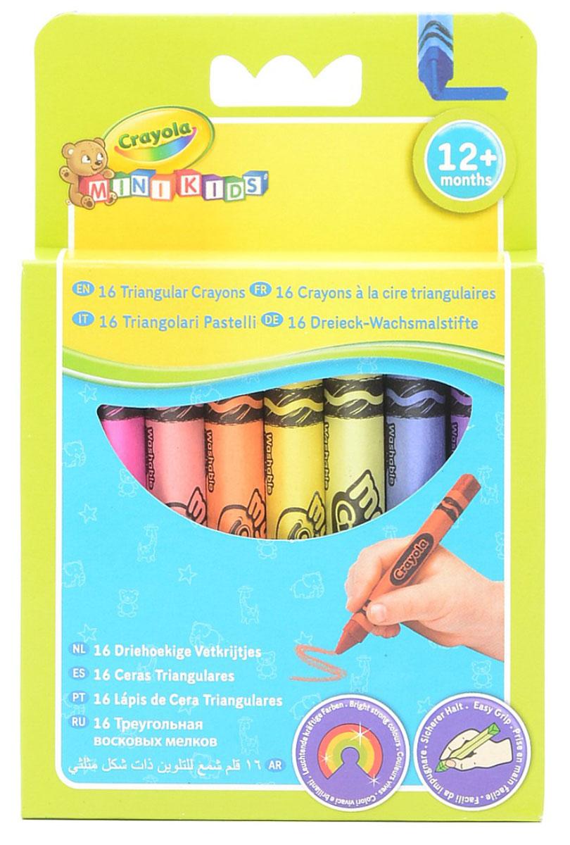 Треугольный восковой мелок  Crayola , смываемый, 16 шт -  Мелки и пастель