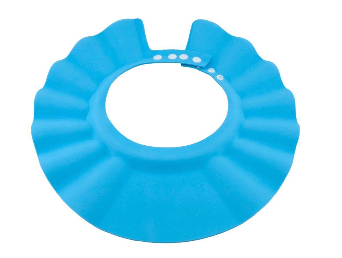 Baby Swimmer Детская шапочка-козырек для душа цвет голубой BS-SH02-D -  Все для купания
