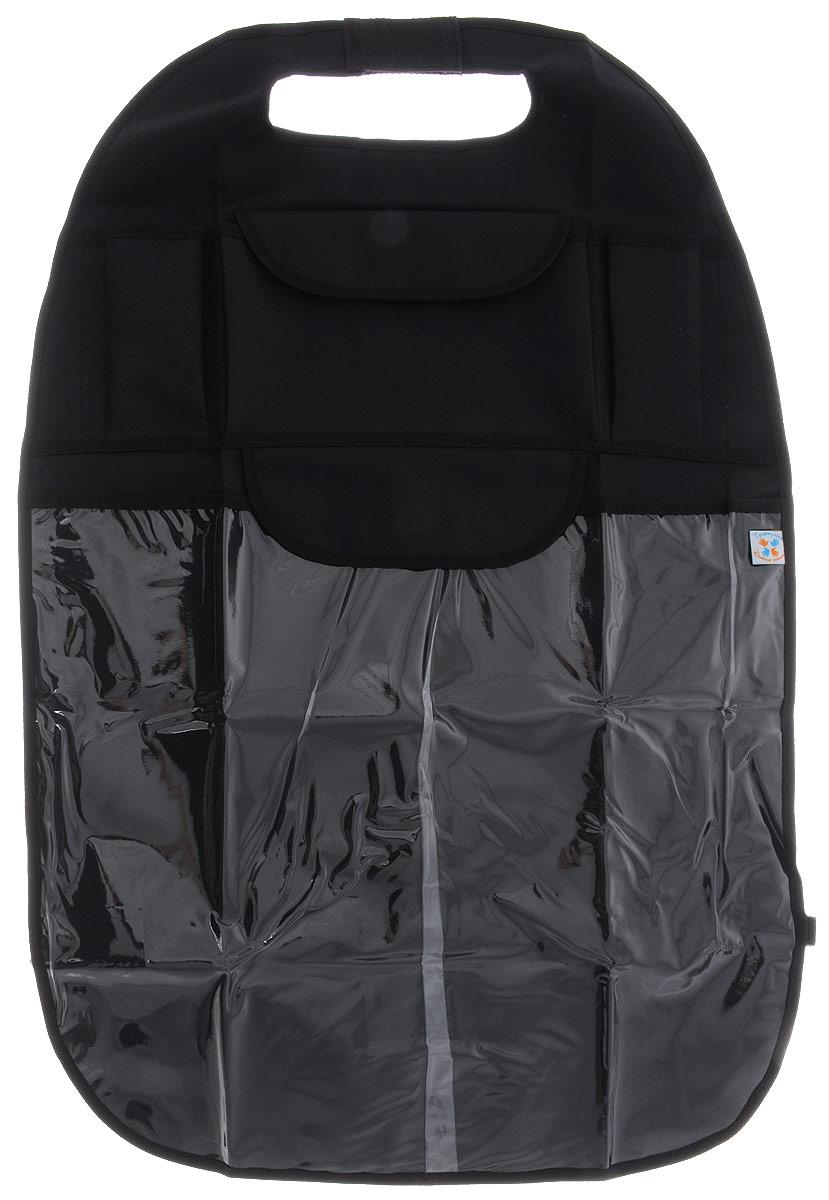Топотушки Органайзер-защита спинки сиденья автомобиля -  Автокресла и аксессуары