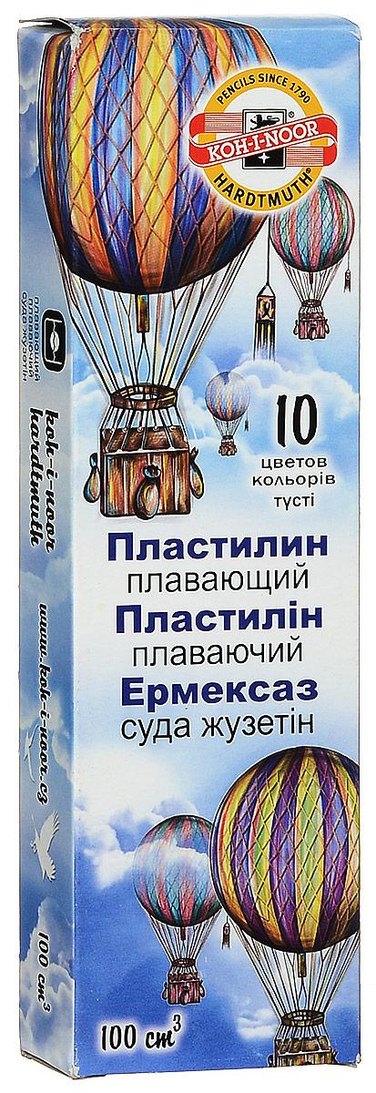 Koh-i-Noor Легкий пластилин Archimedes 10 цветов -  Пластилин