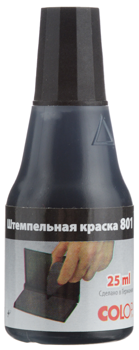Colop Штемпельная краска цвет черный 25 мл -  Кассы, подушки