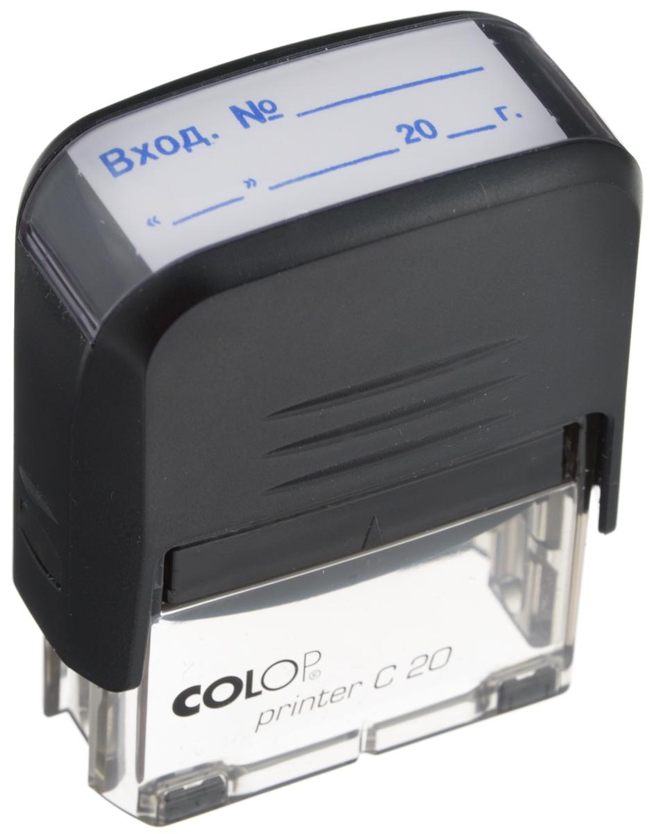 Colop Штамп Printer C20 Вход № Дата с автоматической оснасткой -  Печати, штампы
