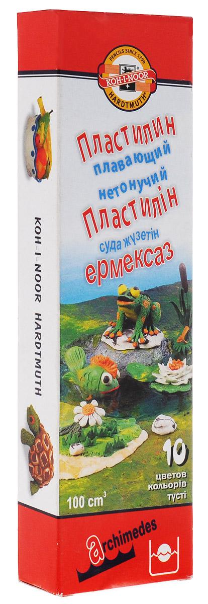 Koh-i-Noor Пластилин Архимед 10 цветов -  Пластилин