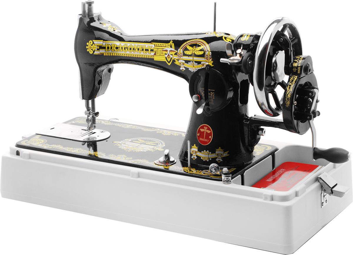 Схема швейной машинки dragonfly