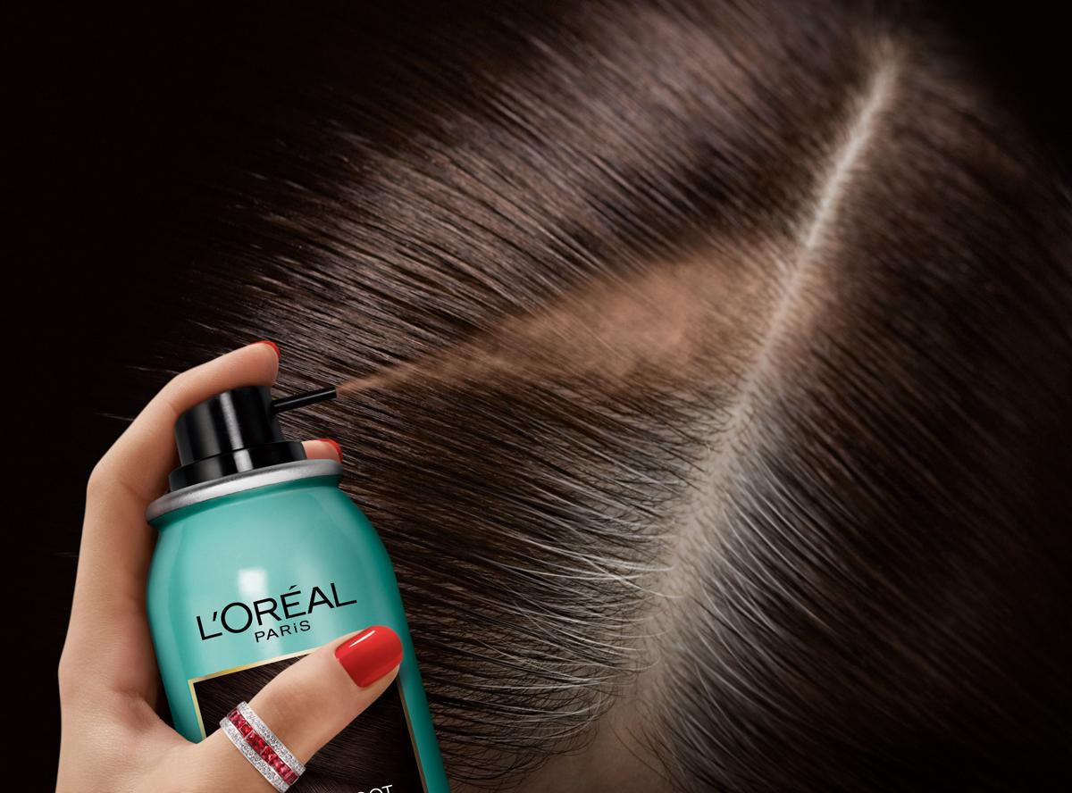Лореаль спрей для окрашивания корней волос инструкция