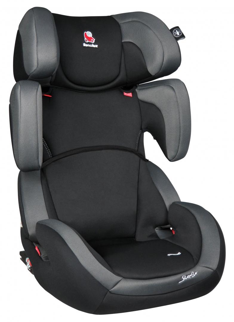 Renolux Автокресло Stepfix цвет черный -  Автокресла и аксессуары