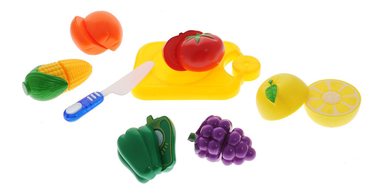 Фото ABtoys Игрушечный набор продуктов 8 предметов PT-00412. Купить  в РФ