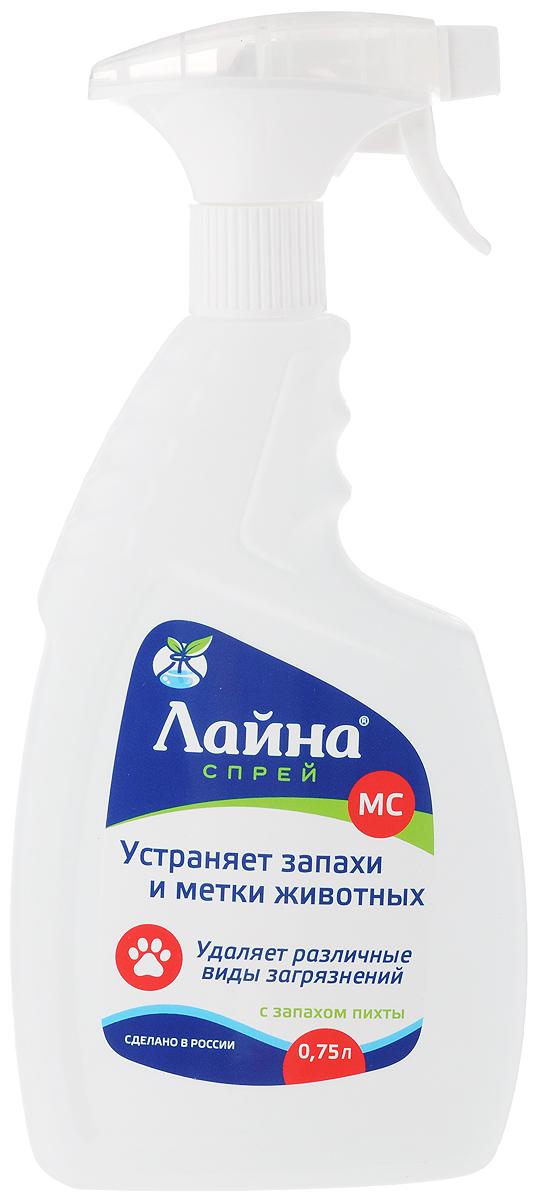 """Фото Спрей для животных """"Лайна"""", с ароматом пихты, 750 мл. Купить  в РФ"""