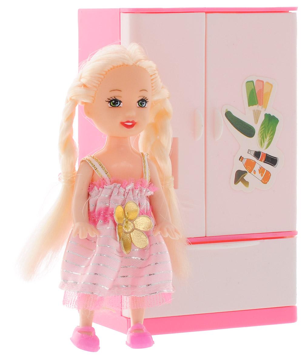 Фото Shantou Мини-кукла Bettina Блондинка с холодильником. Купить  в РФ