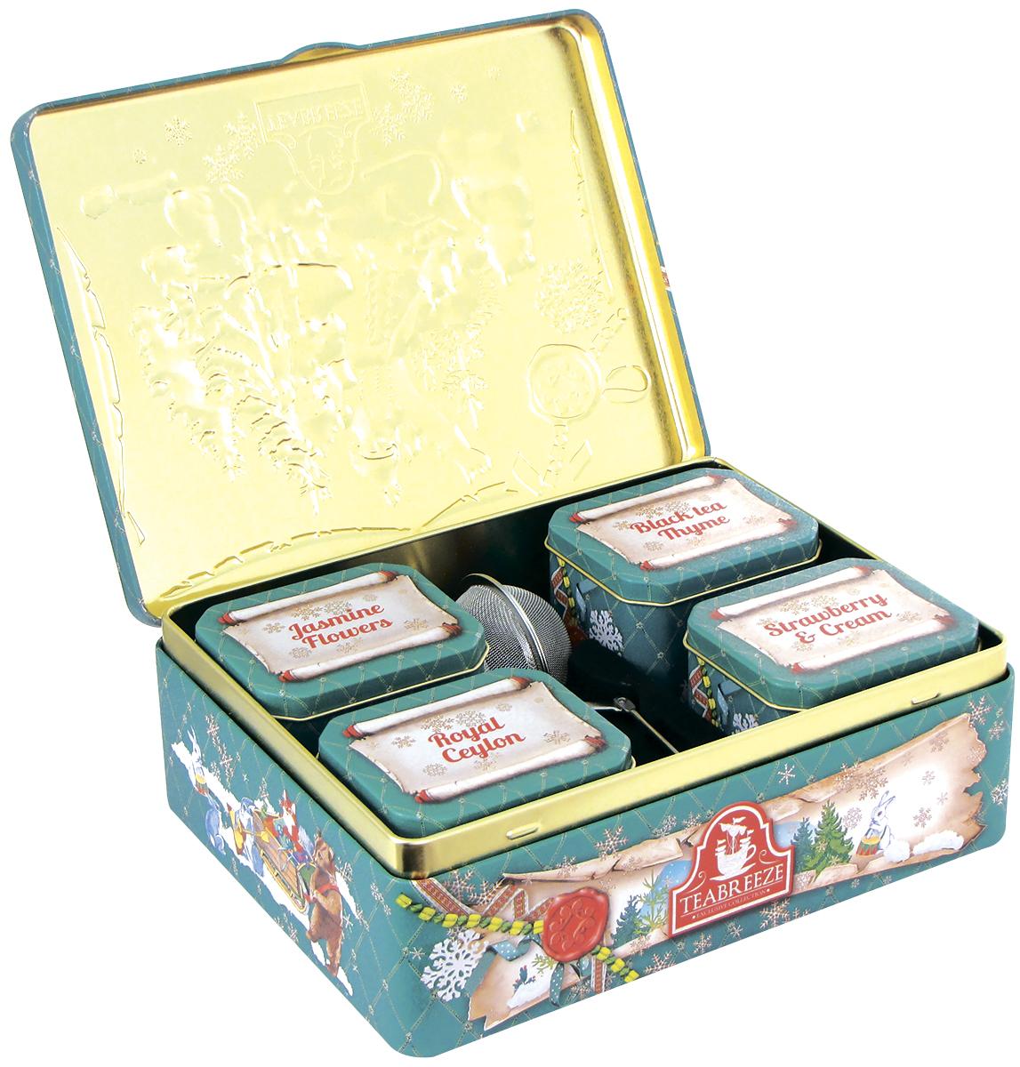 Купить в подарок набор чая