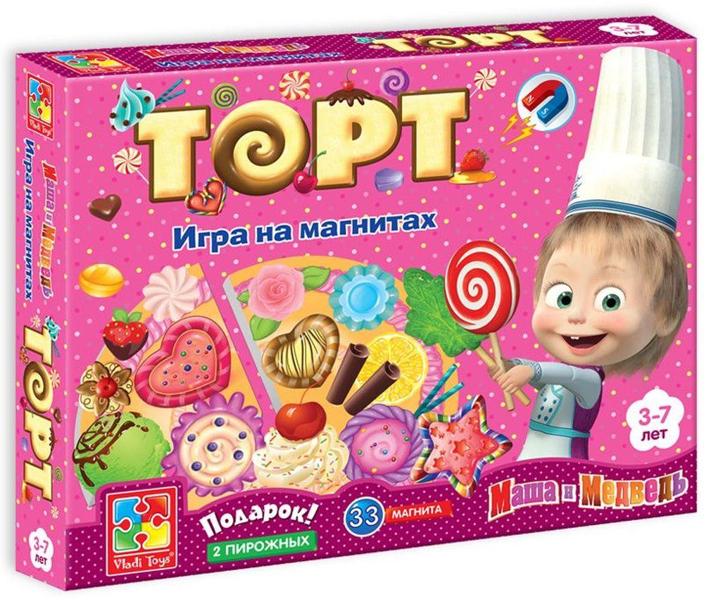 Фото Vladi Toys Обучающая игра Торт. Купить  в РФ