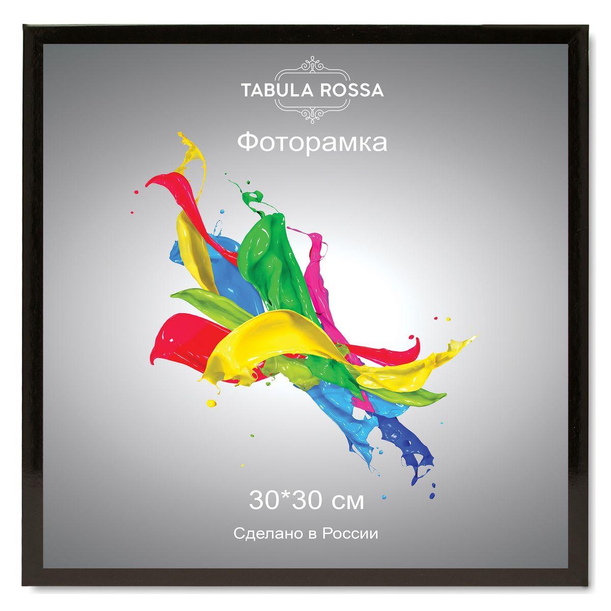 """Фото Фоторамка """"Tabula Rossa"""", цвет: черный глянец, 30 х 30 см. ТР 5139. Купить  в РФ"""