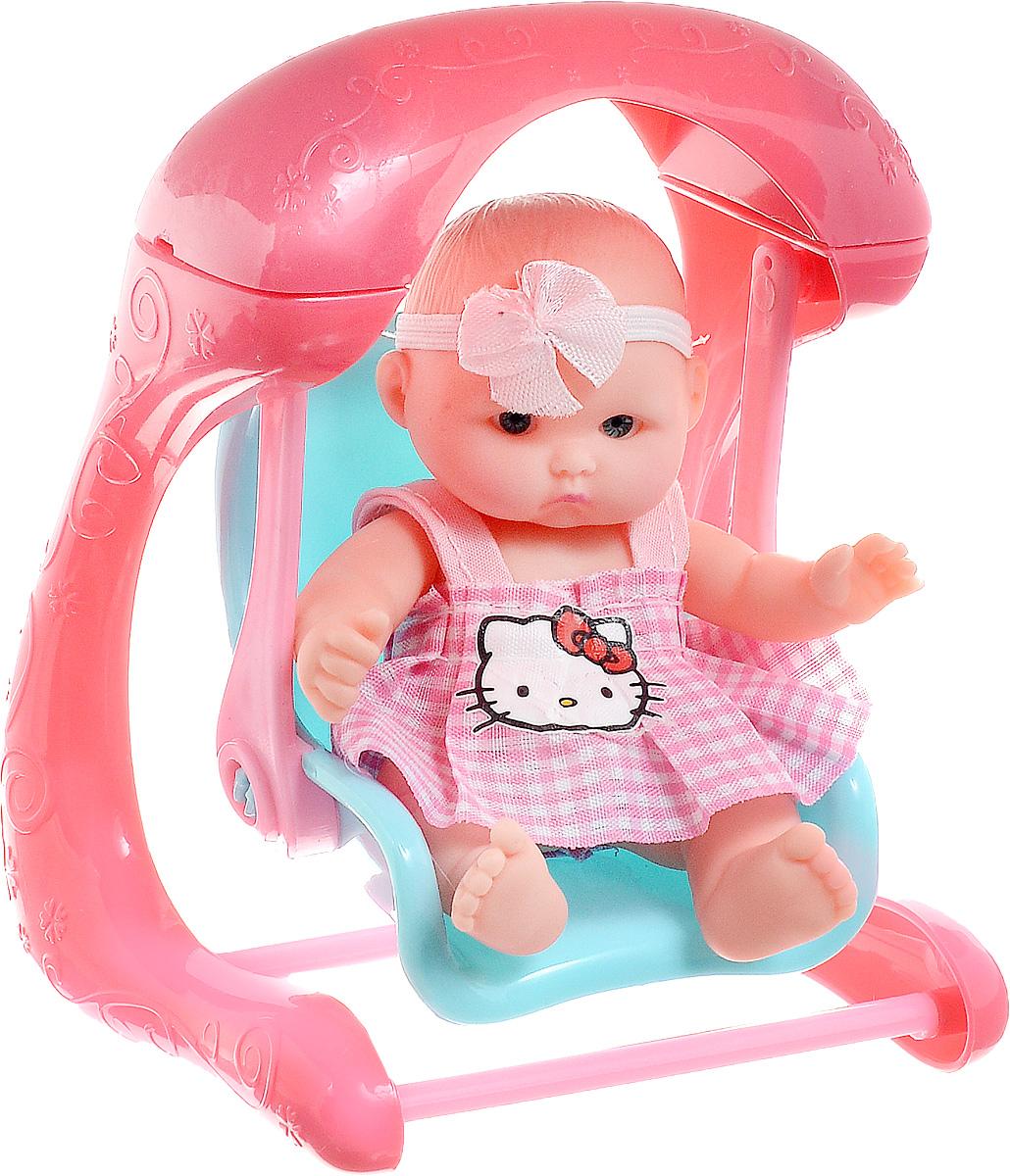Фото Карапуз Пупс Hello Kitty на качелях. Купить  в РФ