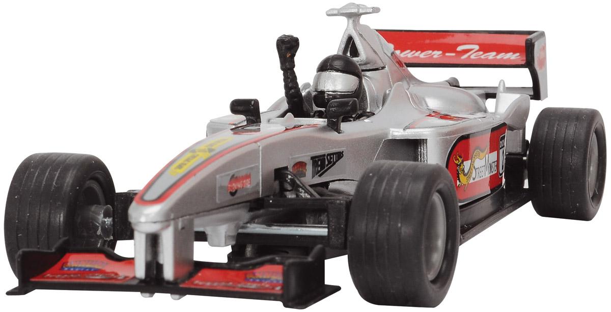 Фото Dickie Toys Машинка Формула 1 цвет серебристый. Купить  в РФ