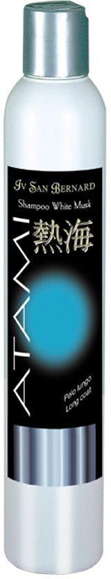 Шампунь антистатик Iv San Bernard  Белый мускус , для длинной шерсти, 250 мл