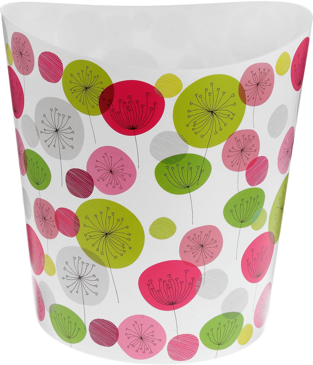 Корзина для бумаг Idea  Деко. Одуваны , 25 х 26 х 28 см -  Корзины для бумаг