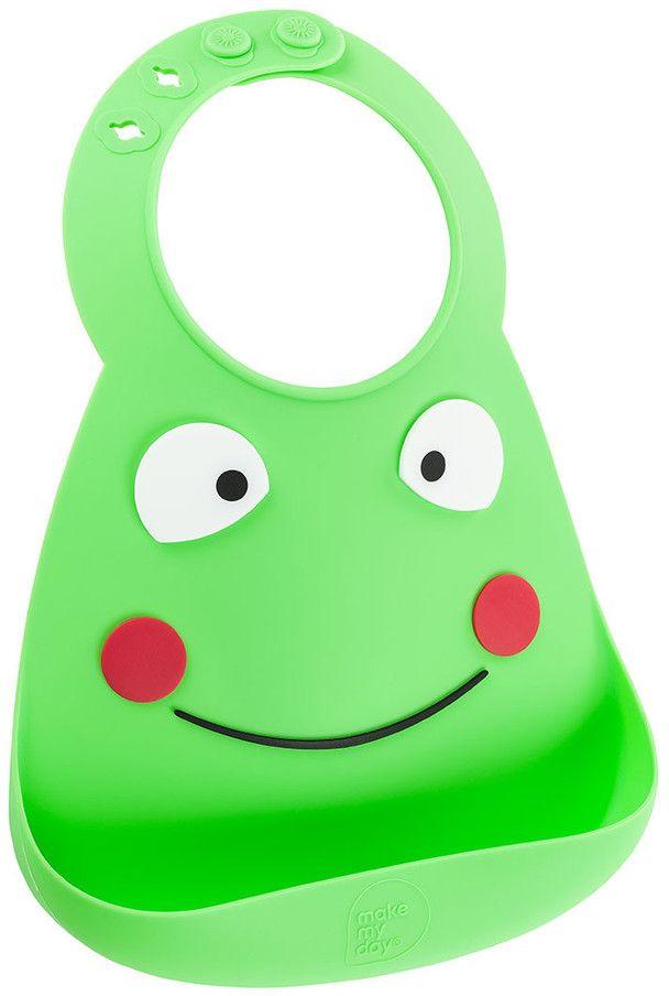Make My Day Нагрудник Baby Bib Frog -  Все для детского кормления
