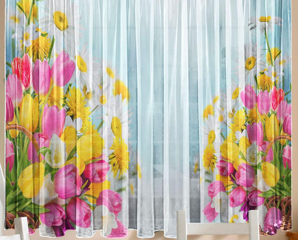 Карнизы  из цветов 146