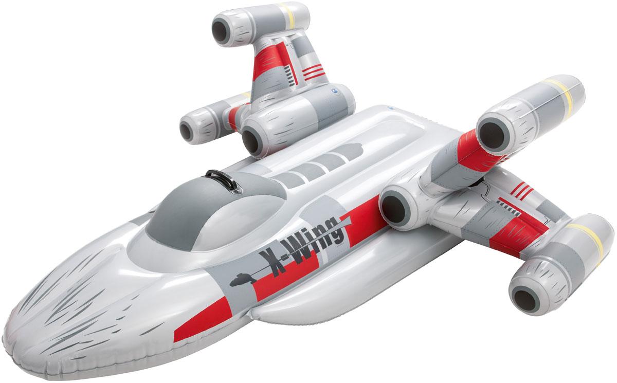 Bestway Надувная игрушка для катания верхом  Истребитель Star Wars . 91206 -  Все для купания