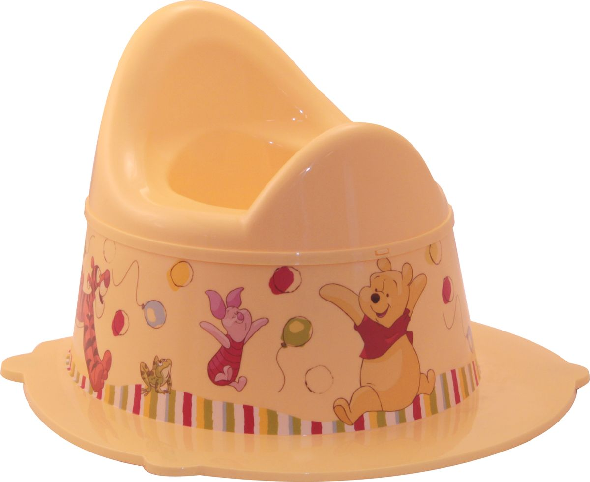 Фото Disney Горшок детский Деко цвет банановый. Купить  в РФ