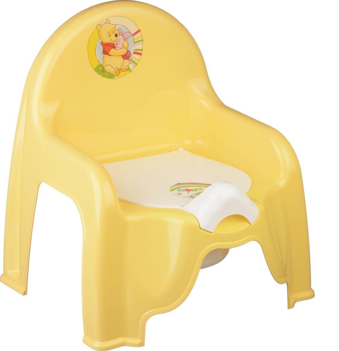 Disney Горшок-стульчик детский цвет банановый -  Горшки и адаптеры для унитаза