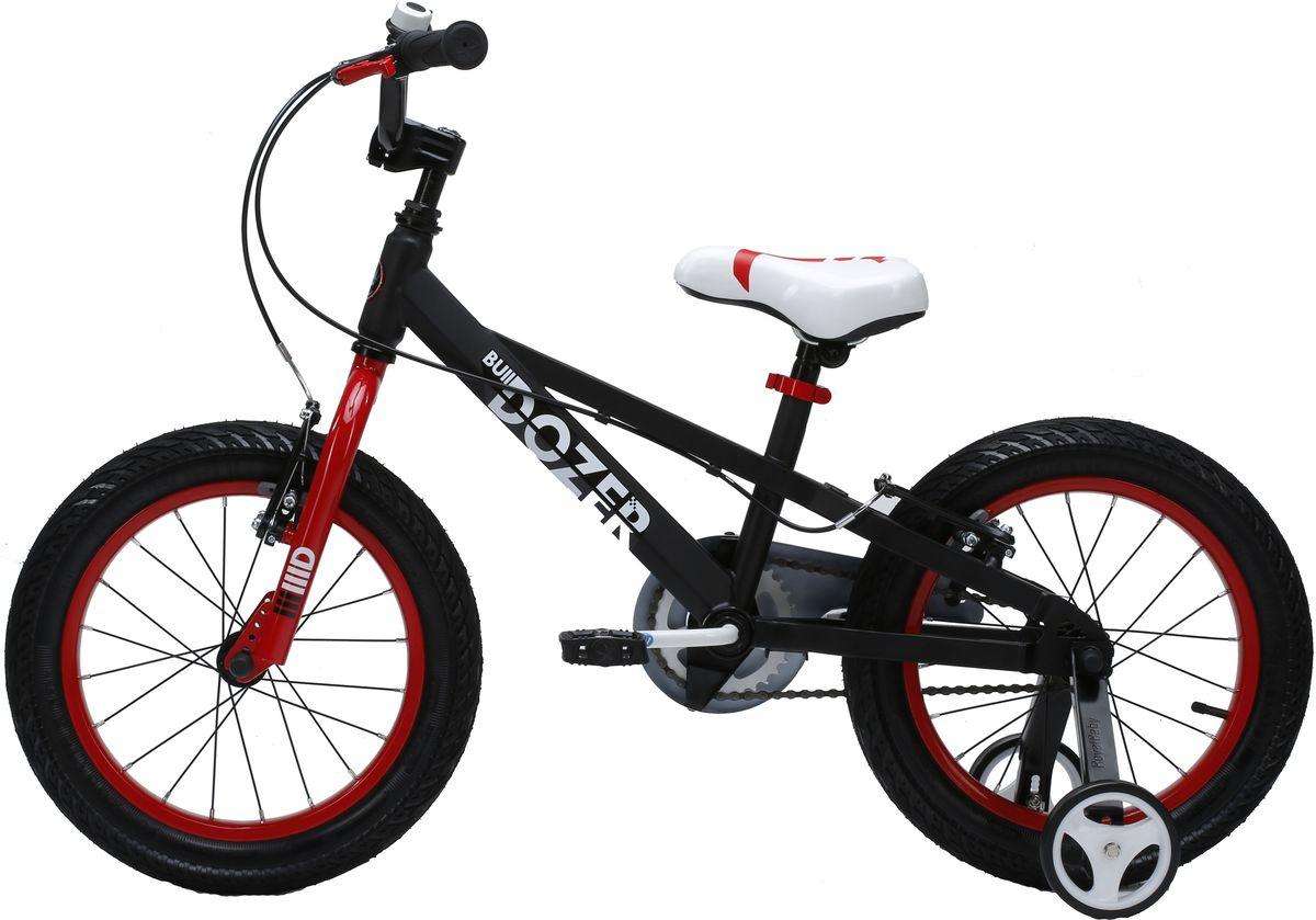 Велосипед детский Royal Baby  Bull Dozer 18  , цвет: черный -  Детские велосипеды
