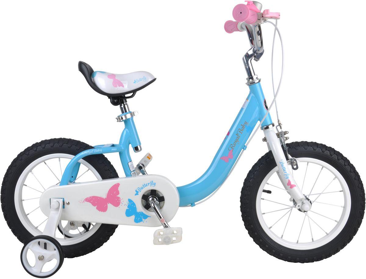 Велосипед детский Royal Baby  Bull Dozer 12  , цвет: голубой -  Детские велосипеды