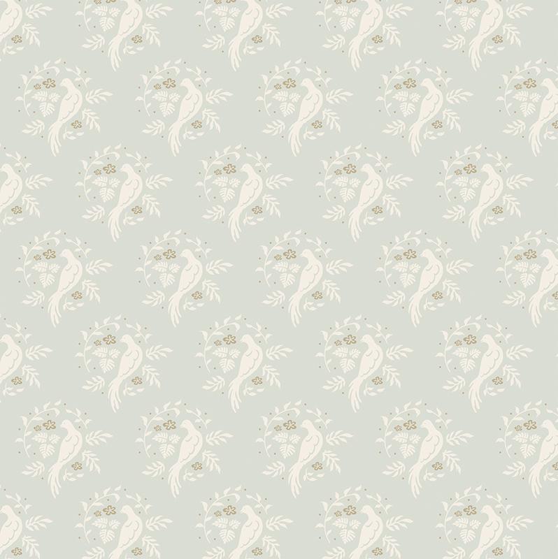 """Фото Ткань """"Tilda"""", цвет: голубой, белый, 50 х 55 см. 210480676. Купить  в РФ"""