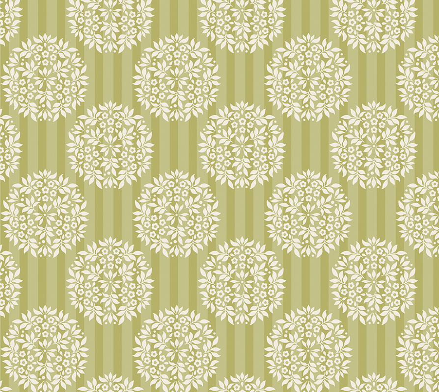 """Фото Ткань """"Tilda"""", цвет: зеленый, горчичный, 50 х 55 см. 210480850. Купить  в РФ"""