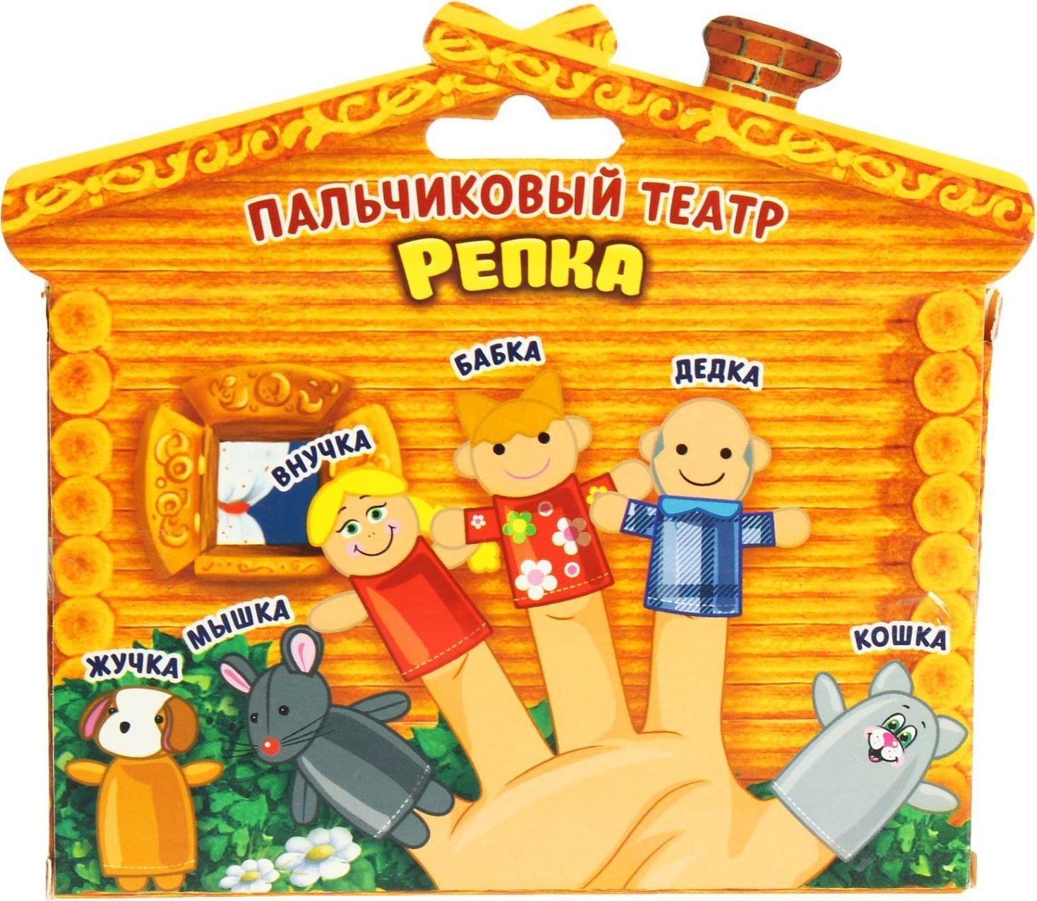 Кукольный театр сценарий репка